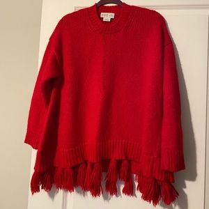 Kate Spade Oversized Tassel Sweater